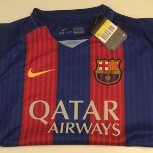 Nike Tops - NEW Messi #10 FC Barcelona Jersey ! ⚽️
